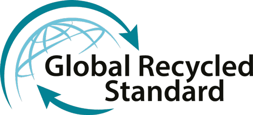 Global recycled standard label